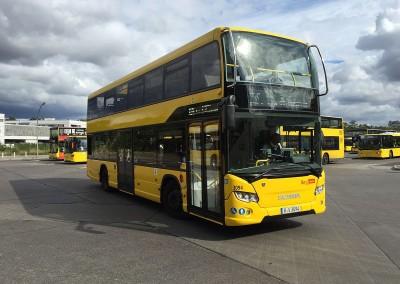 Bus, Straßenbahn, U- und S-Bahn