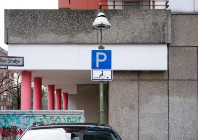Parkplätze für Schwerbehinderte in Berlin
